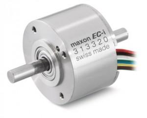 el motor EC-i 40 maxon sin escobillas dispone de una potencia de salida de 50 W.  © 2012 maxon motor ag