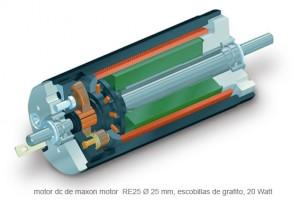 motor dc antartida