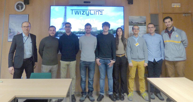 TwizyLine Universidad de Valladolid maxon