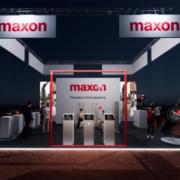 Stand virtual maxon