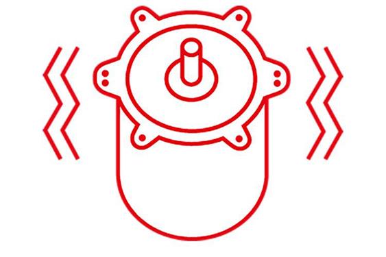motores DC vibración