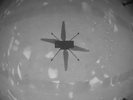 Primer vuelo en Marte motores DC maxonmaxon