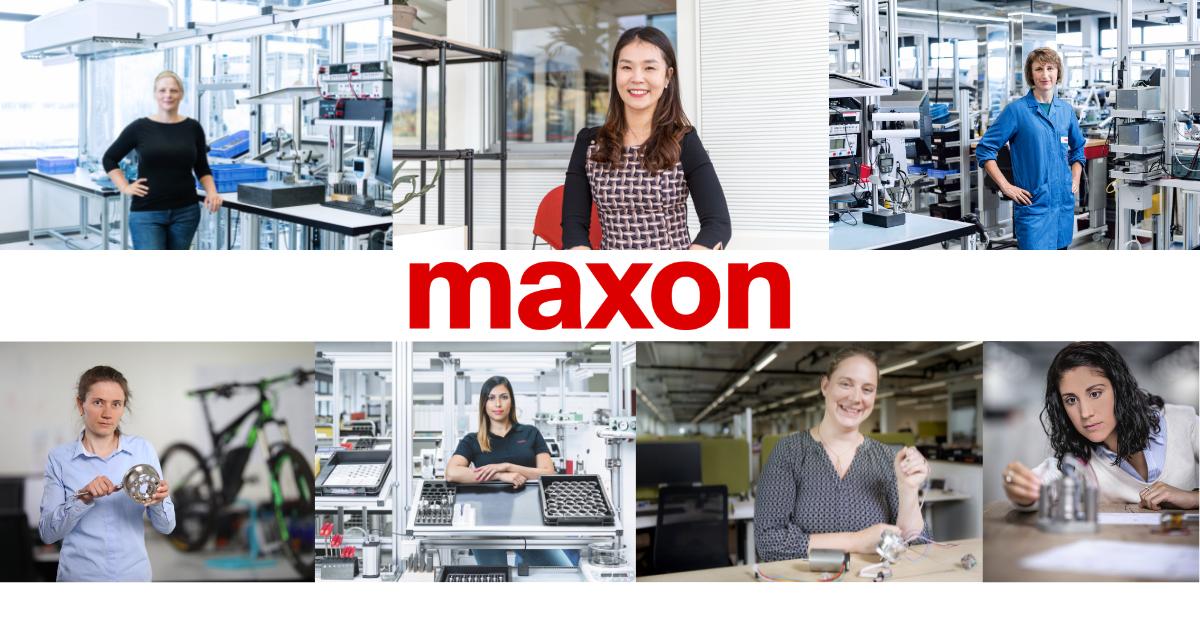 Mujeres en ingeniería maxon