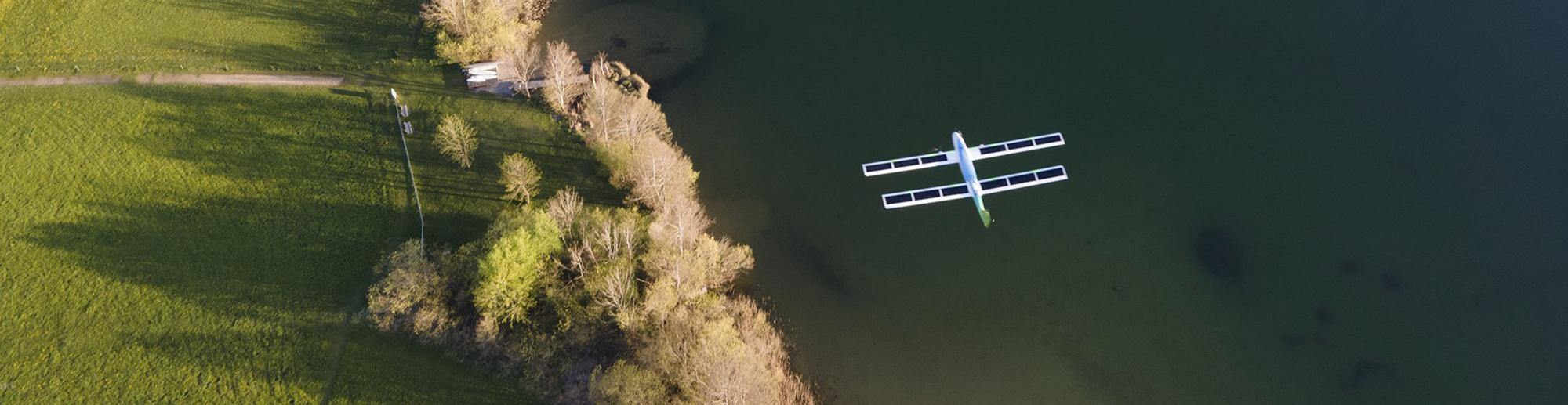 Dron solar motor brushless maxon